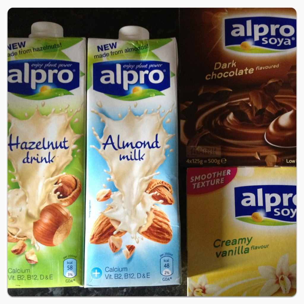 Review alpro milk and desserts lilinha angel 39 s world for Alpro soya cuisine