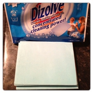 Dizolve Non-Bio Washing Sheets