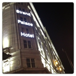 Strand Palace Hotel in Covent Garden