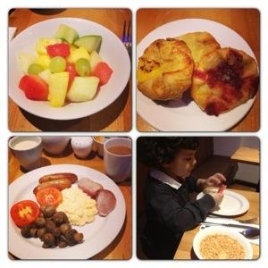 Breakfast at Strand Palace Hotel