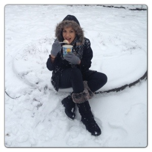 Ice Cream in the Snow