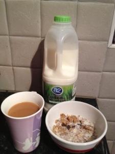 a2 Semi-Skimmed Milk Breakfast