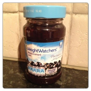 Weightwatchers Blackcurrant Jam