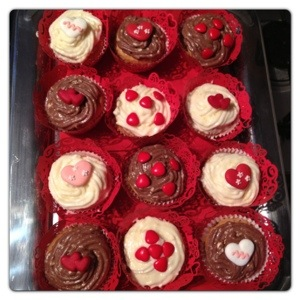 Valentine's Cupcake Decorations by Just Bake