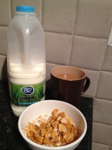 a2 milk breakfast
