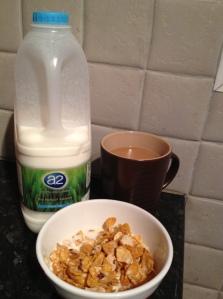a2 milk breakfast
