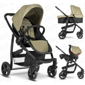 Graco Evo Travel System Sand