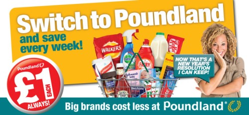 Poundland Switch to Pound