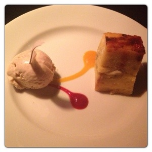 Fennel Spiced Bread and Butter Pudding