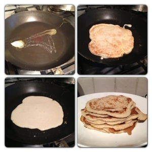 Cooking the Pancakes