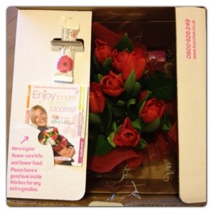 Delivery Box for Flowers