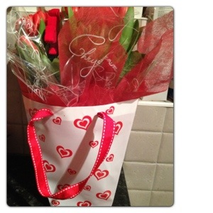 Ready-to-display Heart Bag