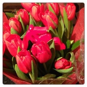 Romantic Tulips Gift Bag