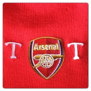 333f6851252 Football Gifts  Personalised Arsenal Knitted Hat