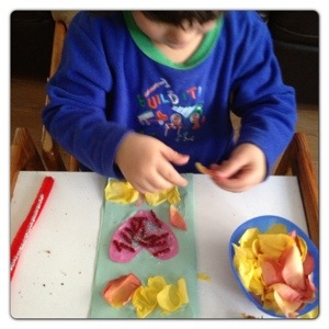 Crafting with Petals