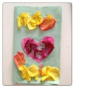 First Valentine's Day Card