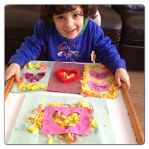 Crafting with Old Petals