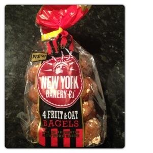 Fruit & Oat NY Bagel