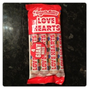 Love Hearts Giant Roll
