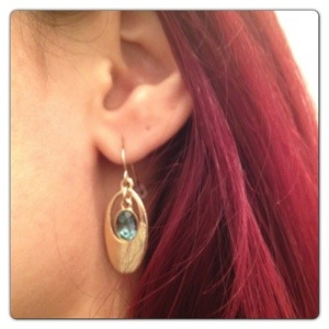 Golden Earrings: Fiorelli Costume Jewellery