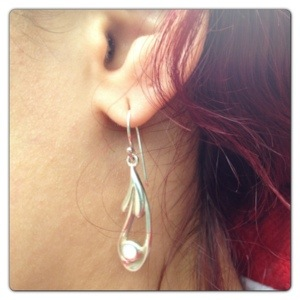 Silver Earrings: Celtic Lands Collection