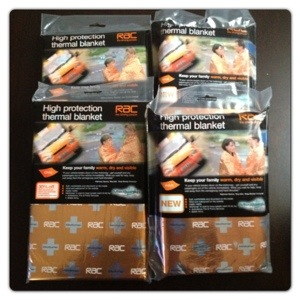 RAC Mediwrap Thermal Blanket Family Pack
