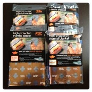 RAC Mediwrap Thermal Blanket Family Pack