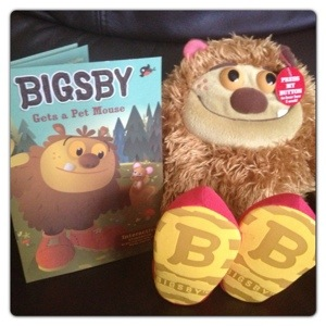 'Bigsby Gets a Pet Mouse' Story Buddy Book