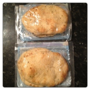 2 Mini Naan Breads per pack