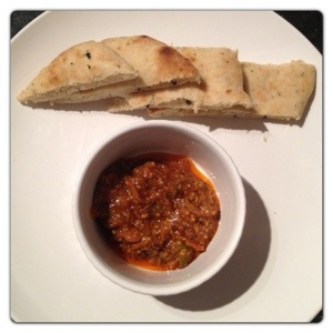 Mini Naan with Indian-Style Chutney