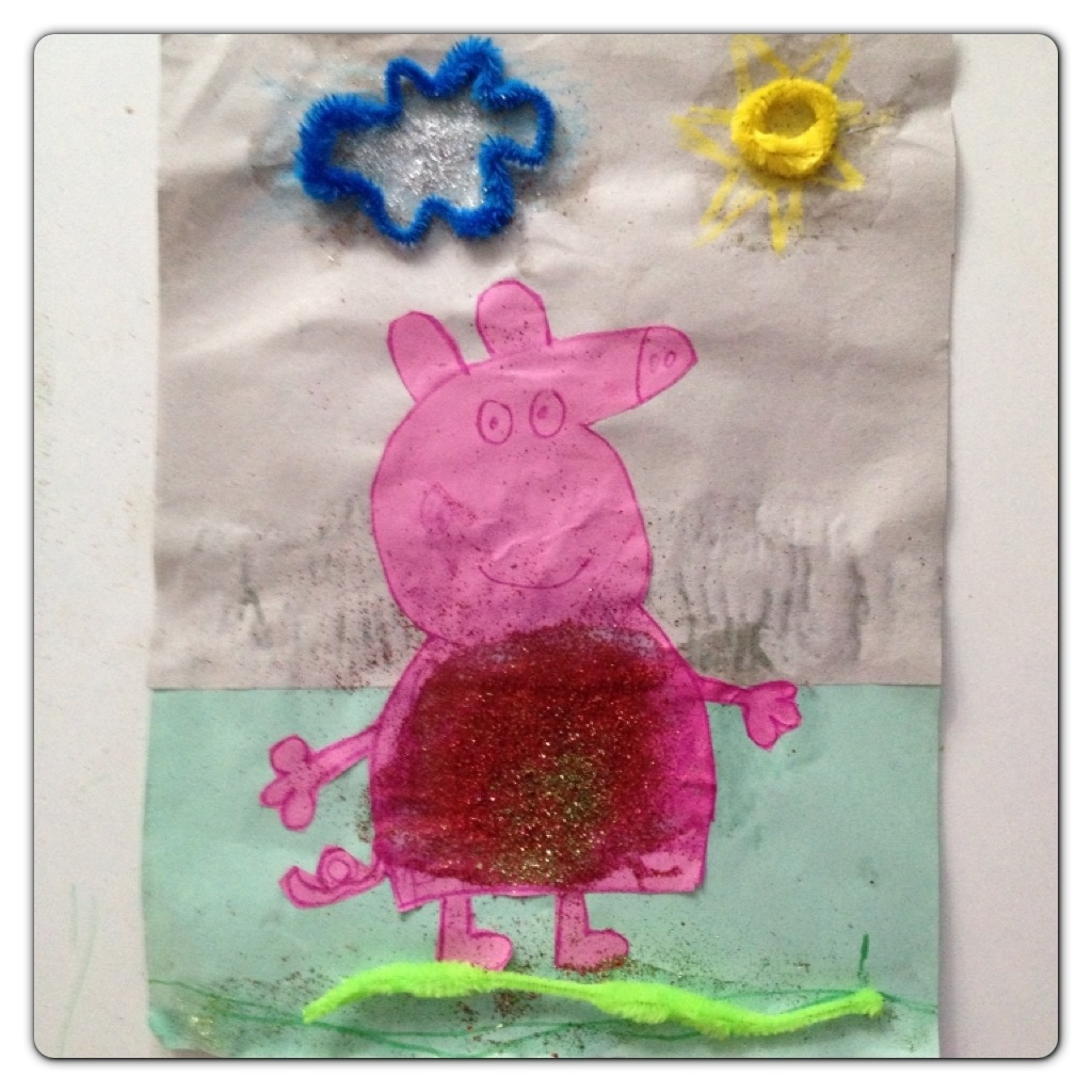 Little Man's Hero: Peppa Pig!