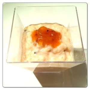 Spicy Rice Pudding
