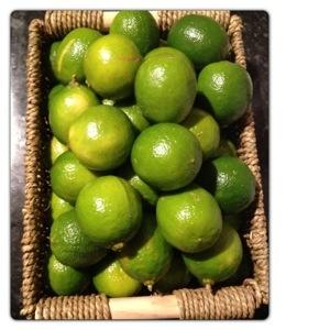 Brazilian Limes Basket