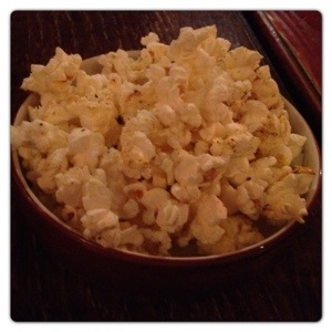 Seasoned Popcorn at Chiquito