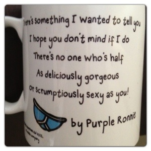 Purple Ronnie Mug