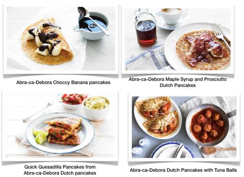 Abra-ca-Debora Savoury Pancakes