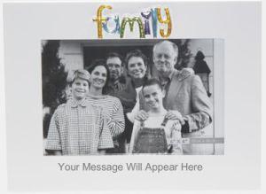 Personalised Modern Family Frame