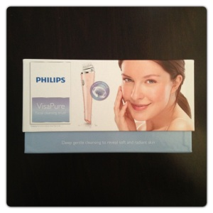 Philips VisaPure Electronic Cleansing Device.