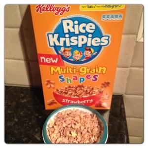 Kelloggs Rice Krispies Multigrain Strawberry