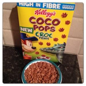 Kelloggs Coco Pops Croc Prints