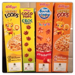 Kellogg's New Lower Sugar Kids Cereals