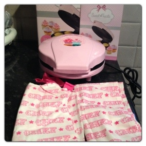 Cupcake Maker with Apron and Tea Towel