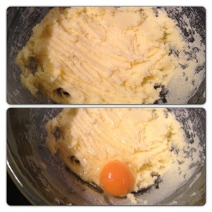 Beat Butter and Sugar, Start Adding Eggs