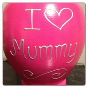 Front: I Love Mummy