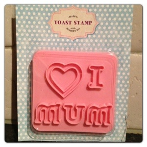 Asda I Love Mum Toast Stamp