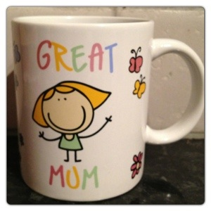 Asda Great Mum Mug