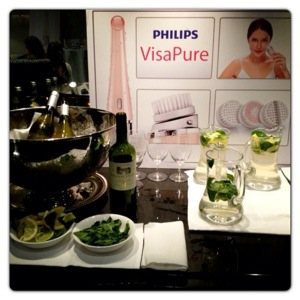 Philips VisaPure Lauch Party
