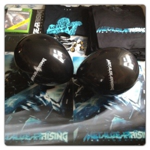 Metal Gear Rising Party Pack