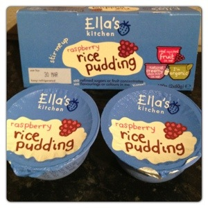 Ella's Kitchen Raspberry Rice Pudding