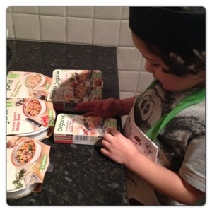 Cook with Organix New Range